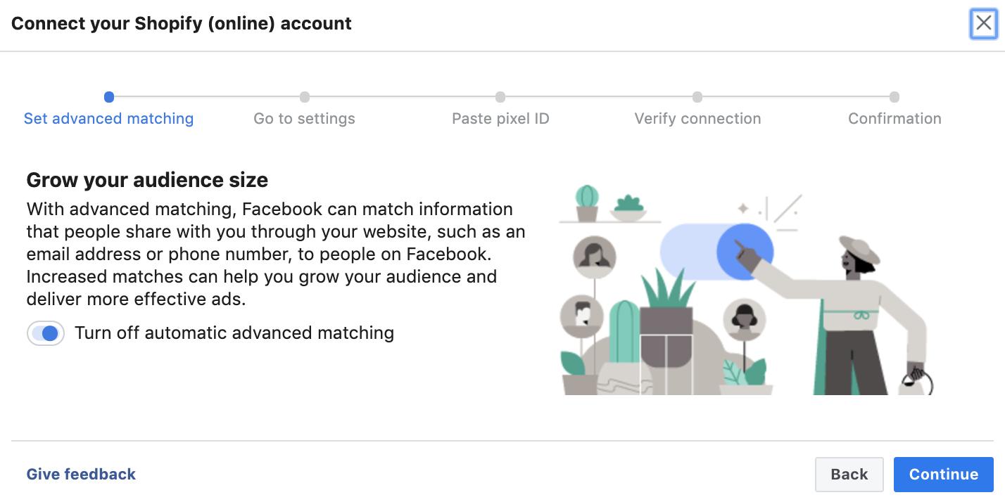create facebook pixel step 5