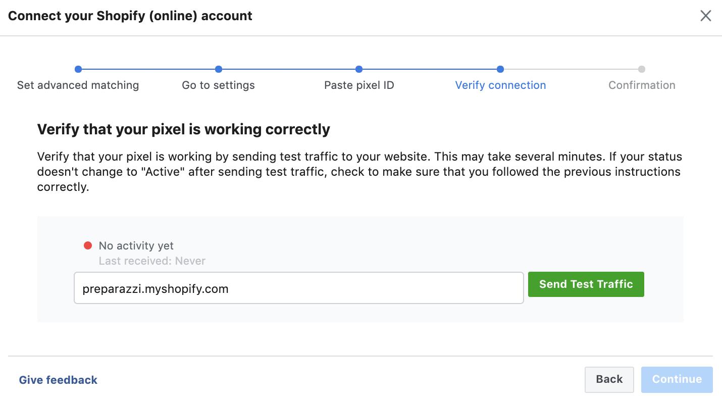 create facebook pixel step 8