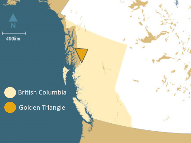 Golden Triangle in British Columbia, Orogen Royalties