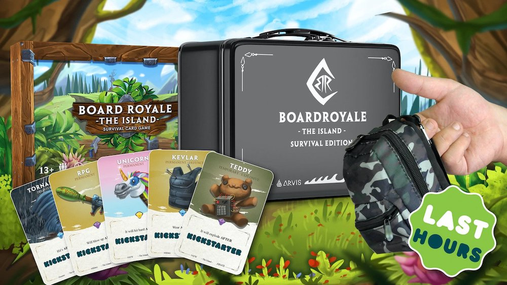 Board Royale Kickstarter