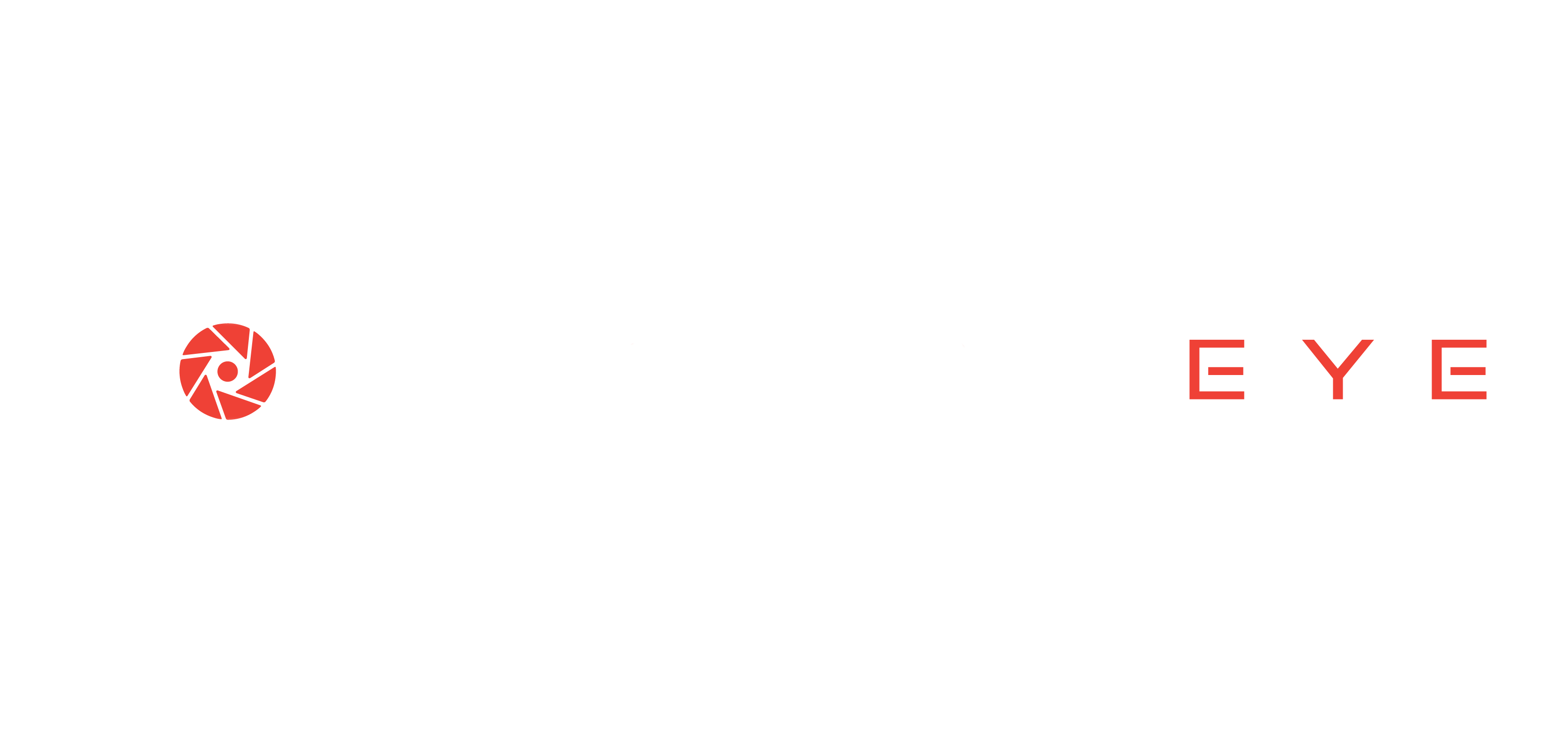 Machine Eye Logo White