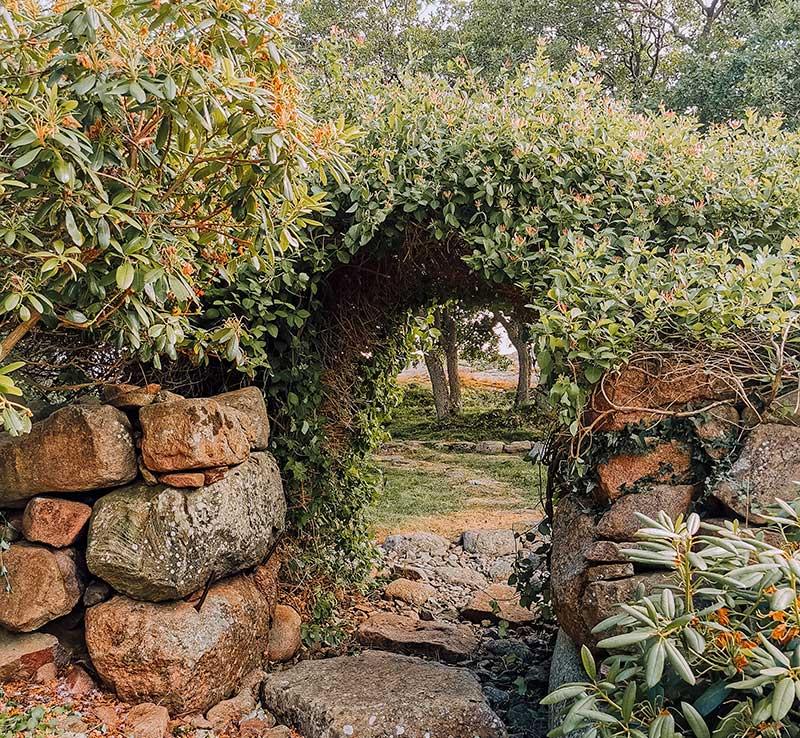 Källskär puutarha