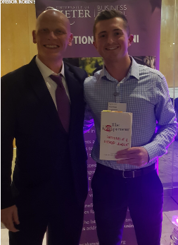 Meeting Gib Bulloch, founder of Accenture Development Partnerships and writer of 'The Intrapreneur: Confessions of a corporate insurgent'