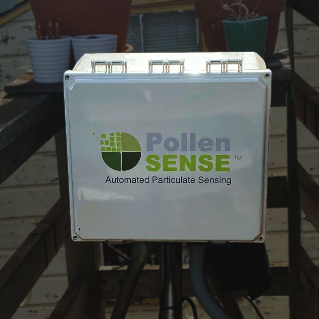 Automated pollen, mold and dust sensor