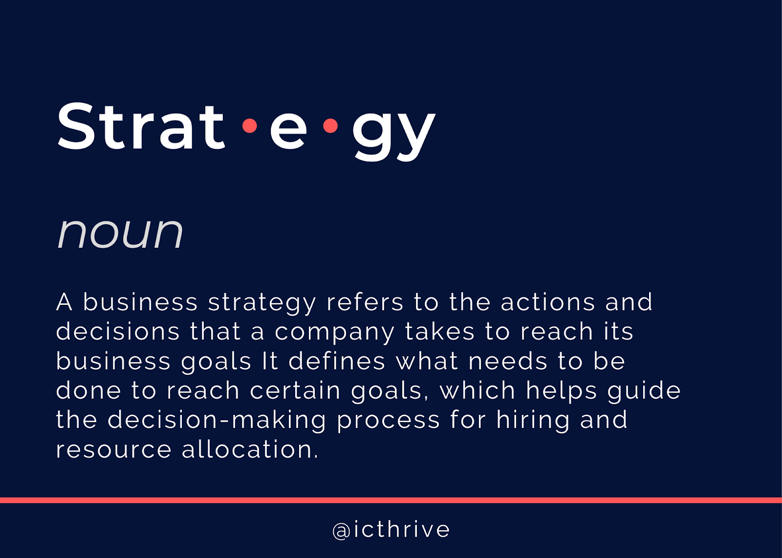 What is an internal communications strategy?