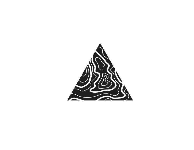 Coast break Collective Logo Icon Black