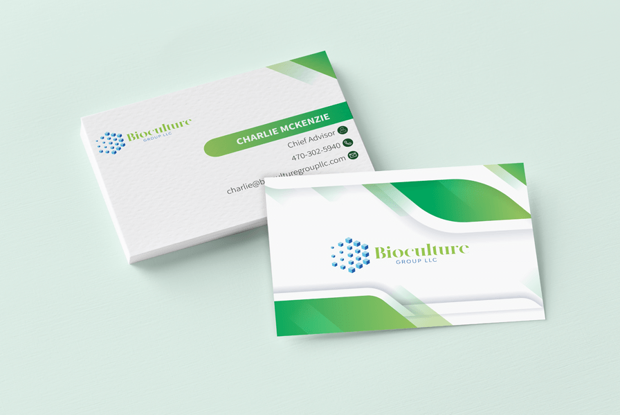 Bioculture business card