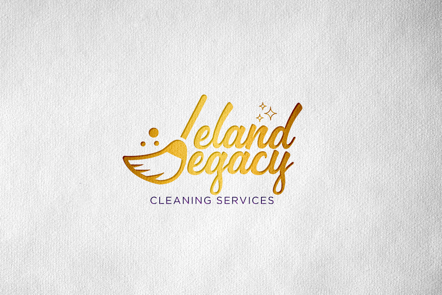 Cleaning services logo design