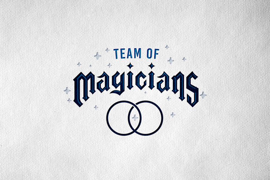 Magicians logo design