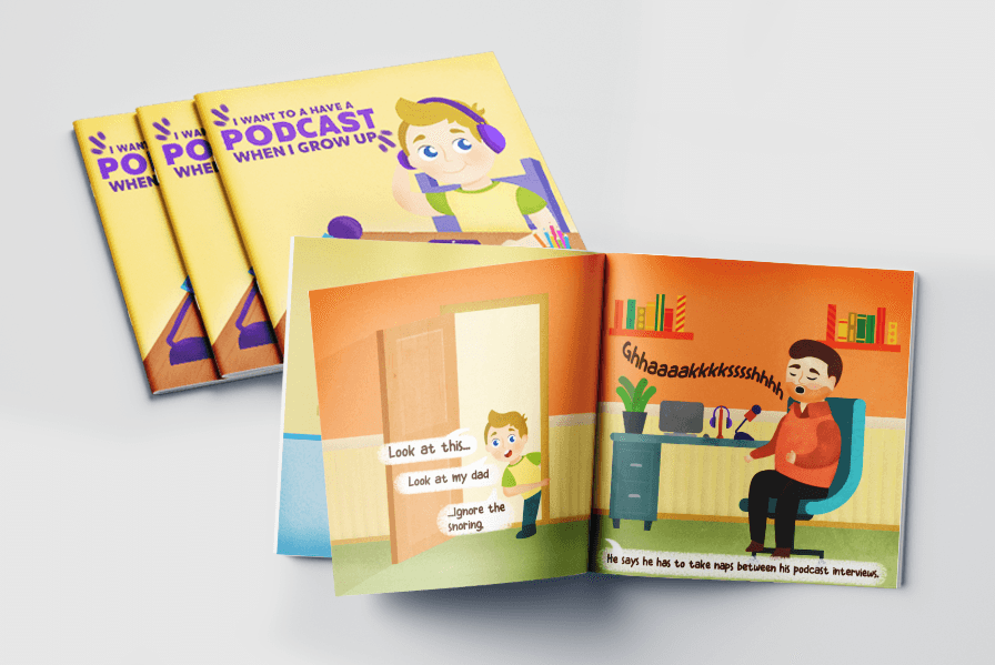 Kid's book self published illustrations