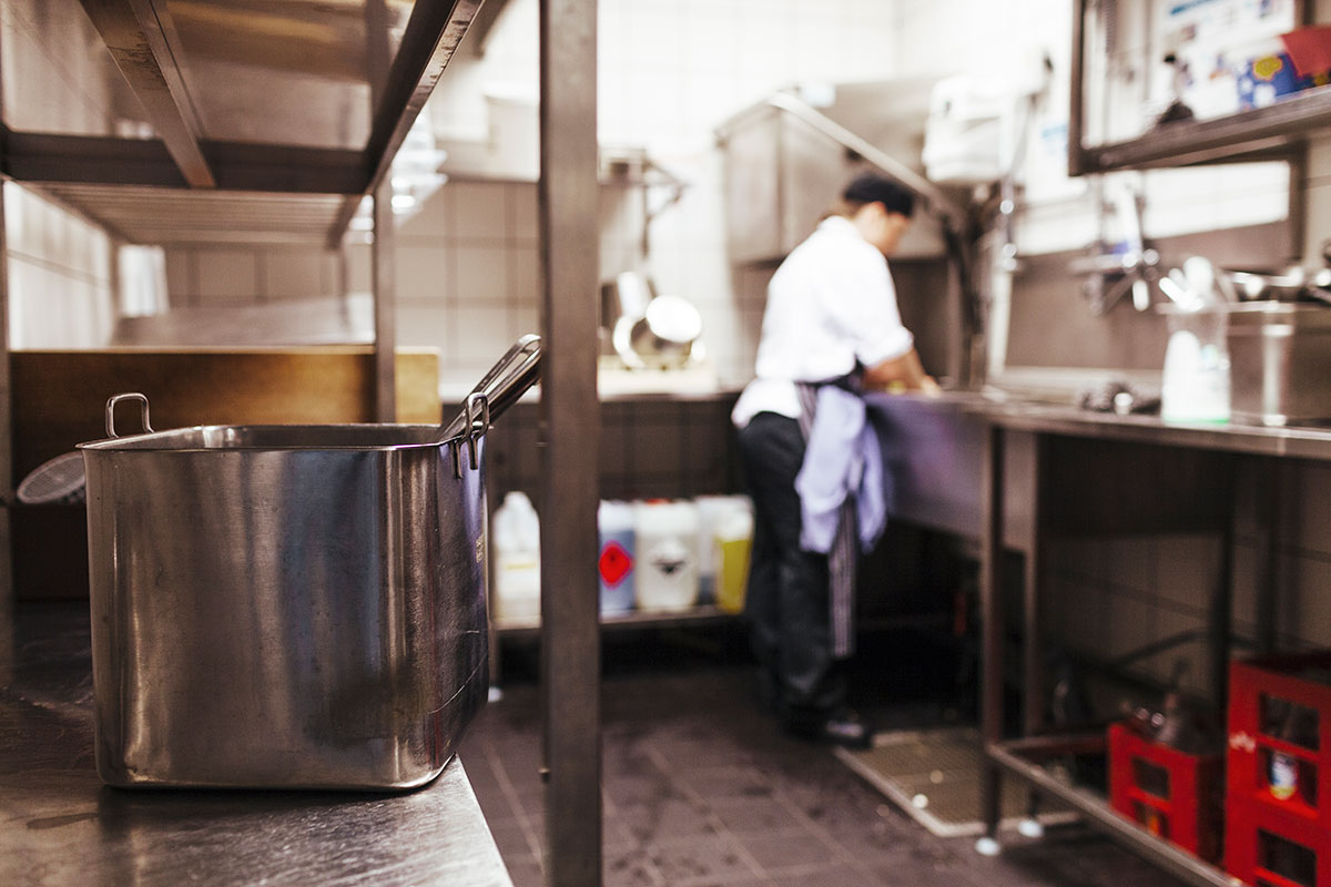 Evergreen Grease Services- Line Jetting​ - Restaurant sinks and drains are sources of contaminants, sludge and FOG