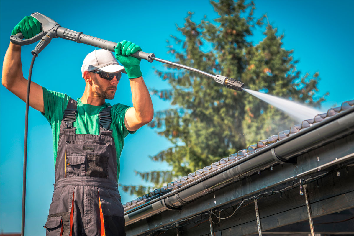 Evergreen Grease Services - Power Washing - Improve Safety & Appearances
