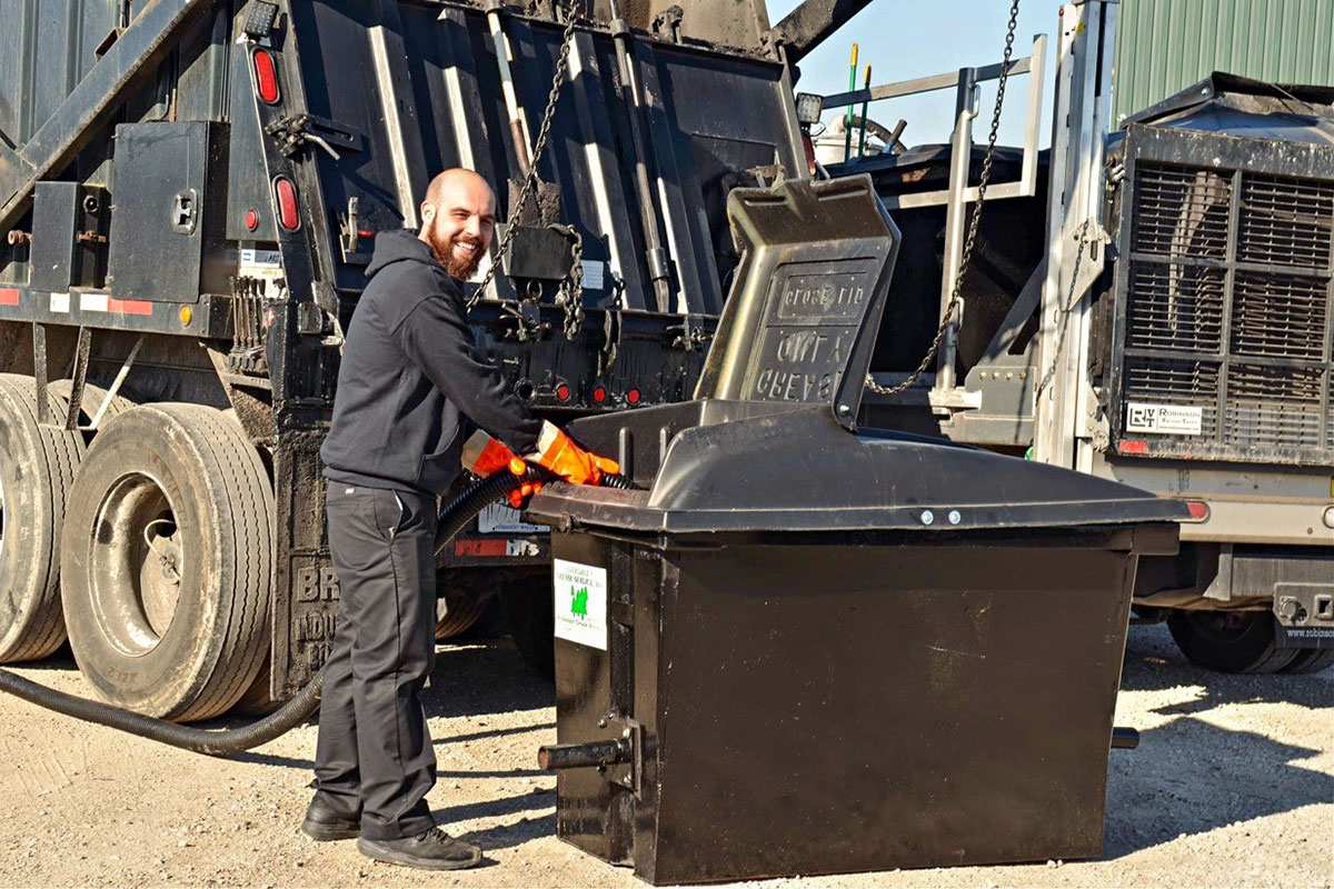 Evergreen Grease Services - Used Cooking Oil Pick-up - Oil Collection Bins