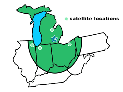 Evergreen Grease Service Area - Chicagoland, Indiana, Kentucky, Michigan, Ohio, West Virginia, Western Pennsylvania