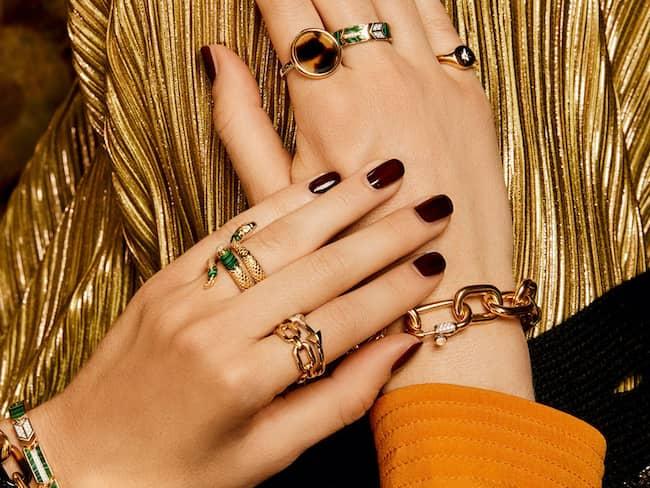 Bild på ringar och armband från Ti Sento.