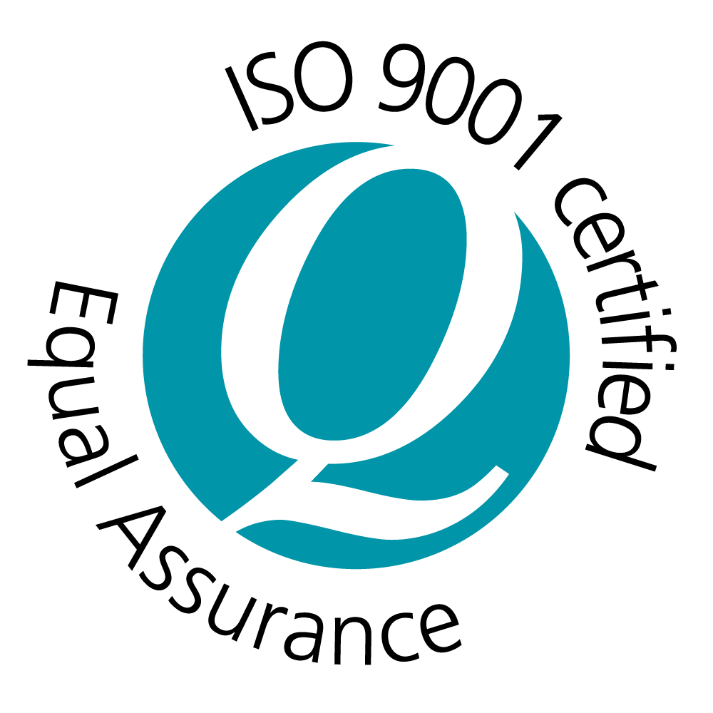 ISO 9001 Certification Logo by Equal Assurance