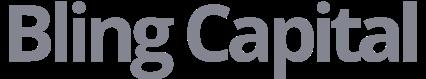 Bling capital logo grey