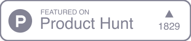 Product Hunt logo grey