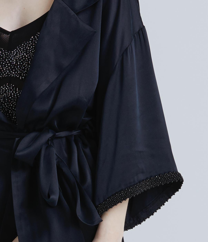 Julia in our 'Thylane' kimono.