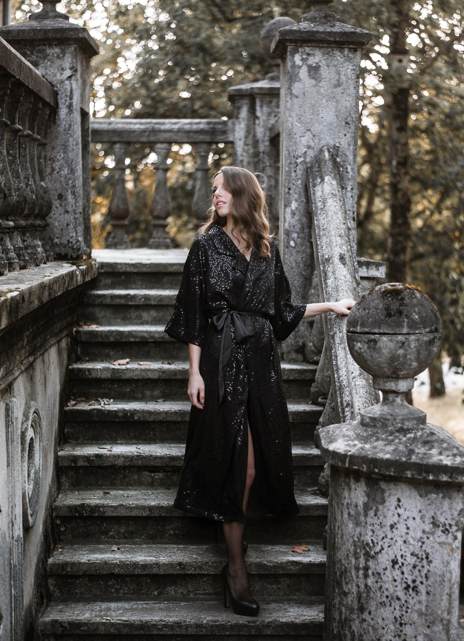 Gabija in our 'Eliia' kimono