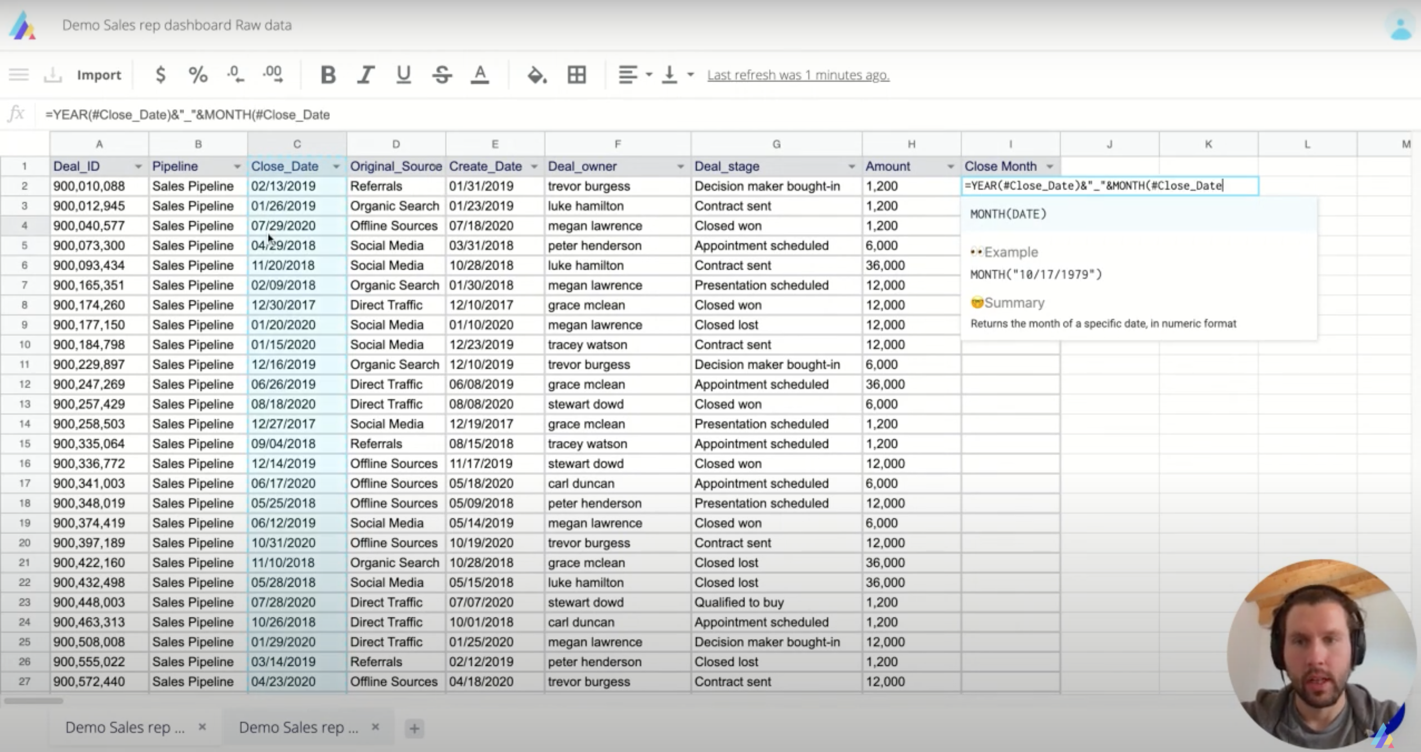 Actiondesk interface