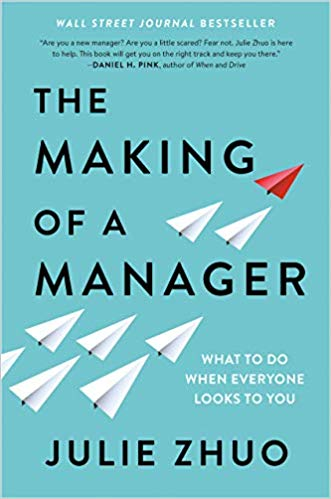 The making of a Manager Book Cover