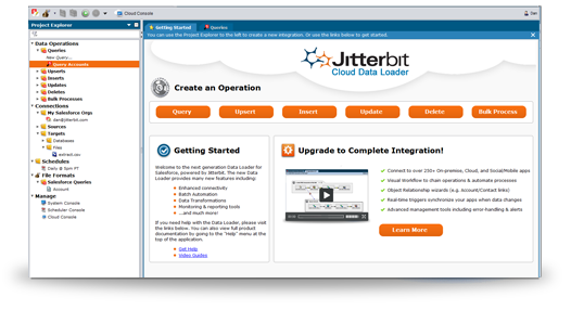 Jitterbit Interface