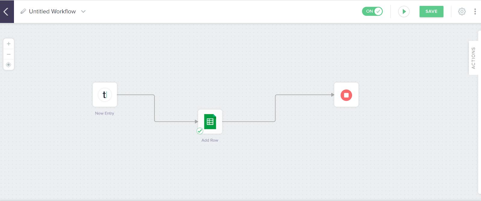 Built.io interface screenshot