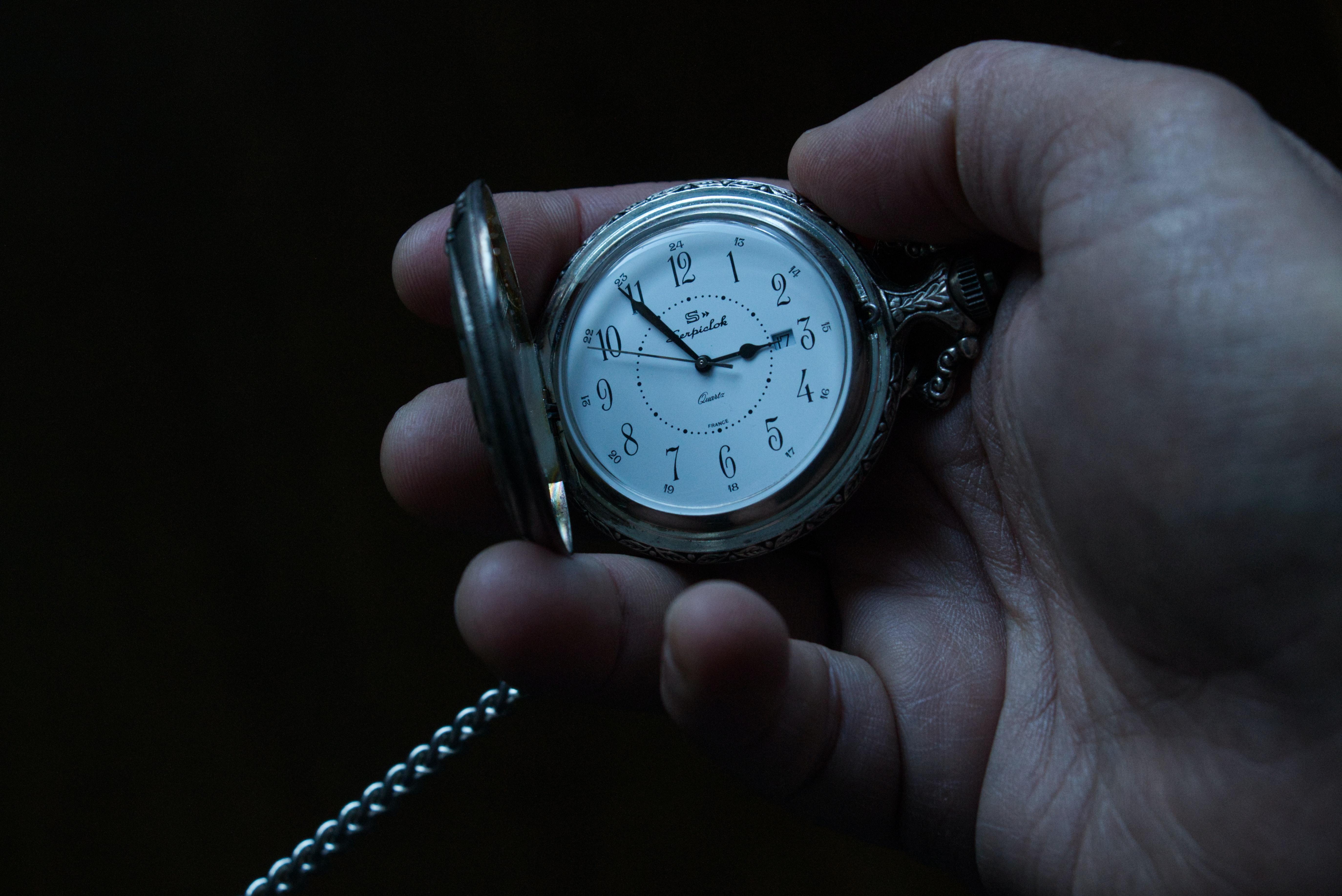 Wristwatch Late Photo by Pierre Bamin on Unsplash