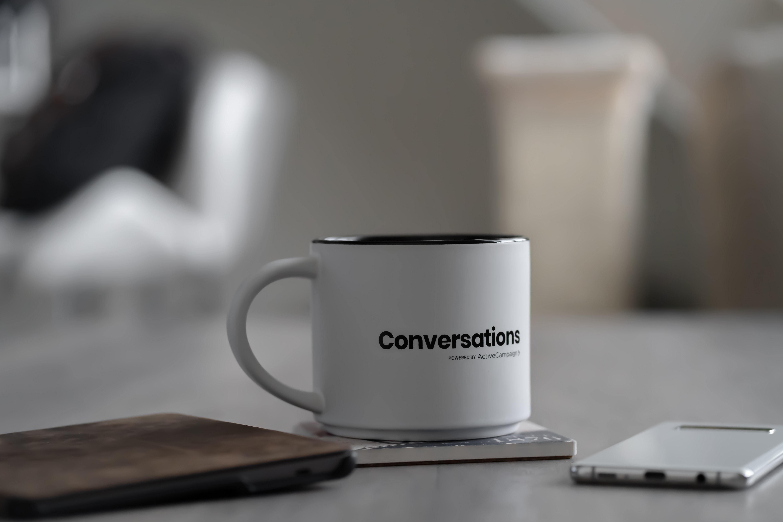 conversations mug