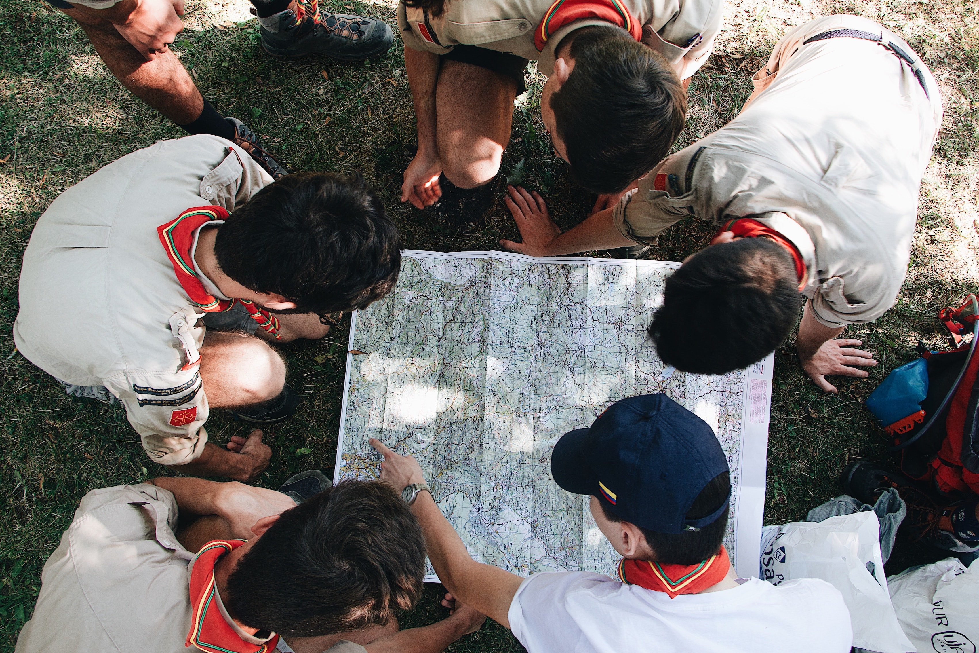 scouts map