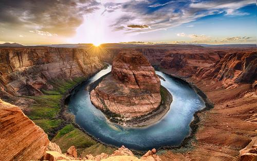 sunset-at-grand-canyon