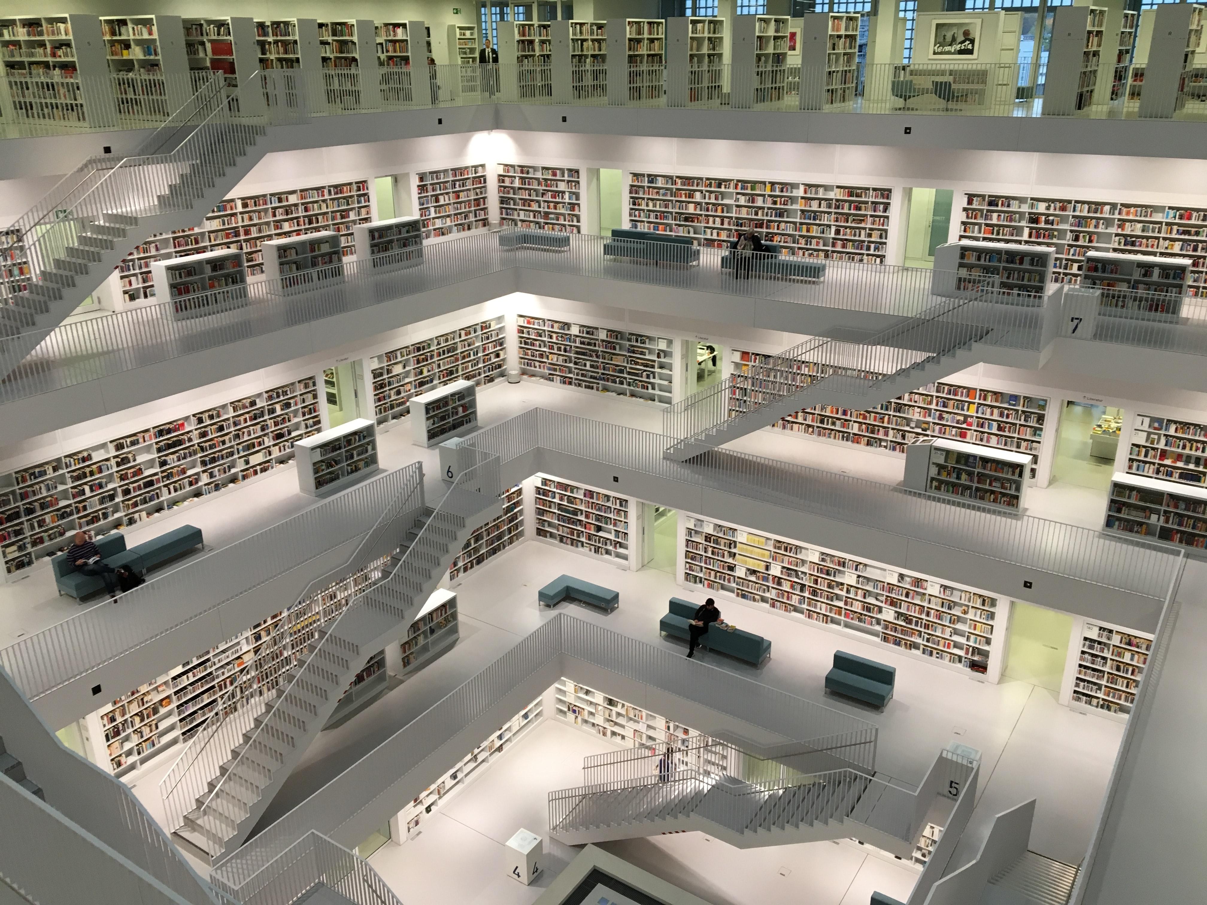 Library, Interior Design, Room Photo by Tobias Fischer on Unsplash