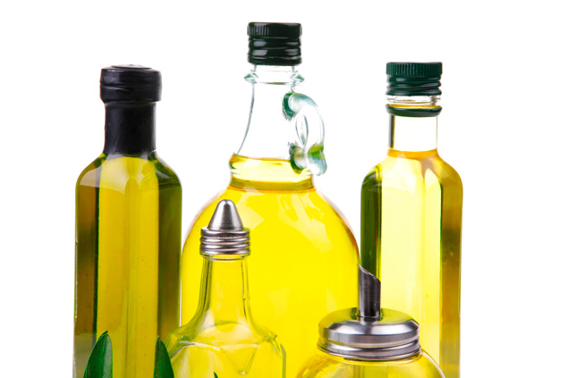 5 bottles of vegetable oil