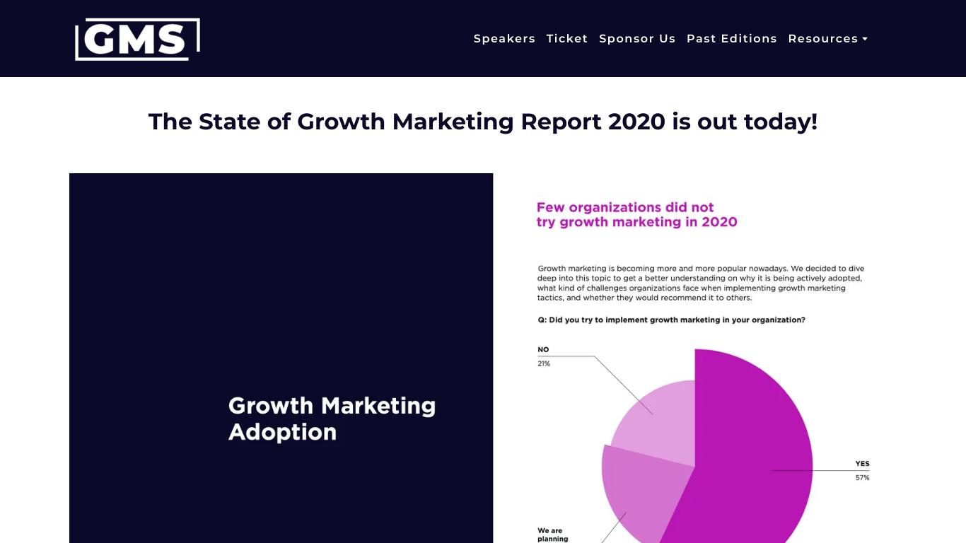 Growth Marketing 2020