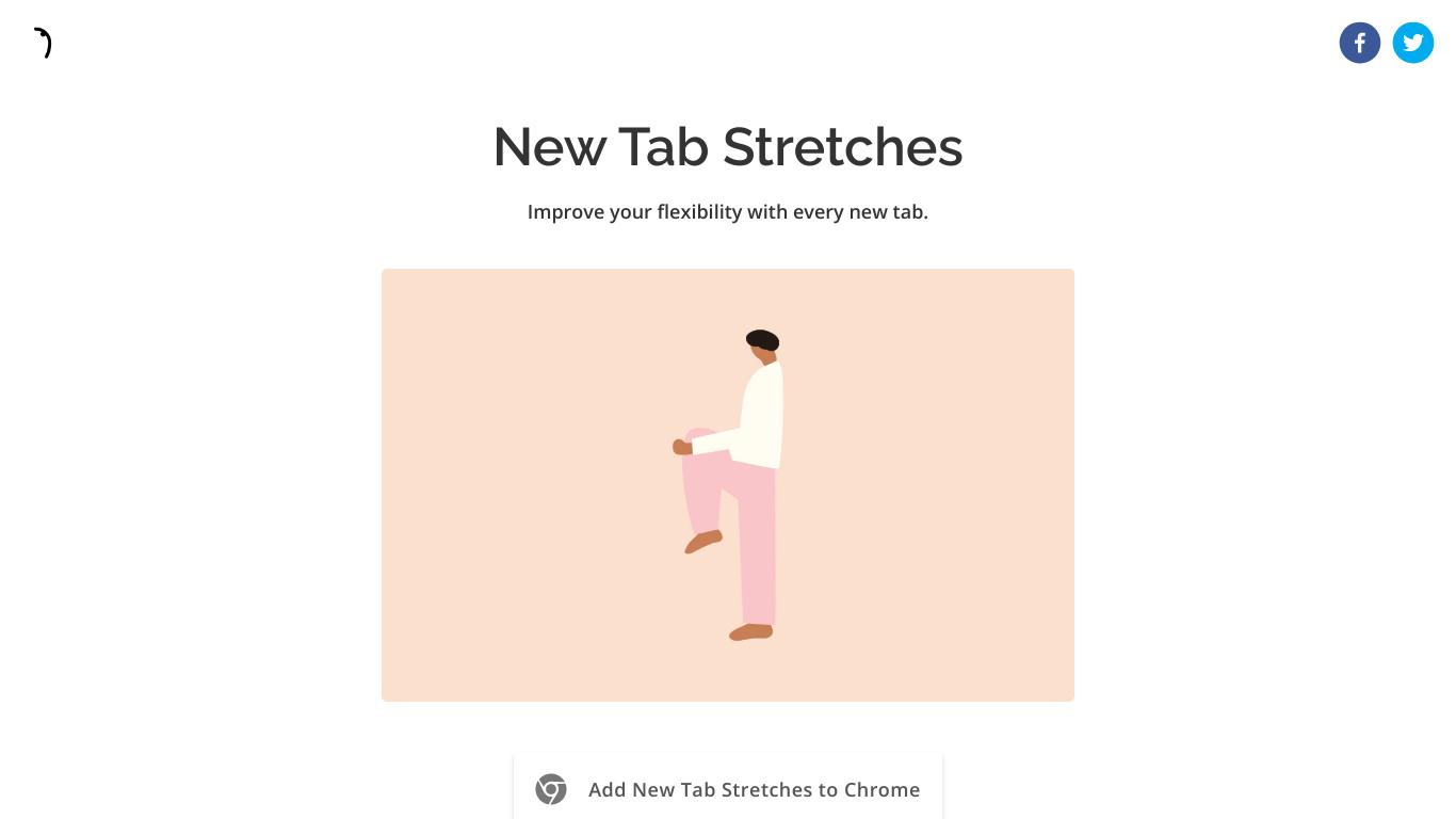 New Tab Stretches