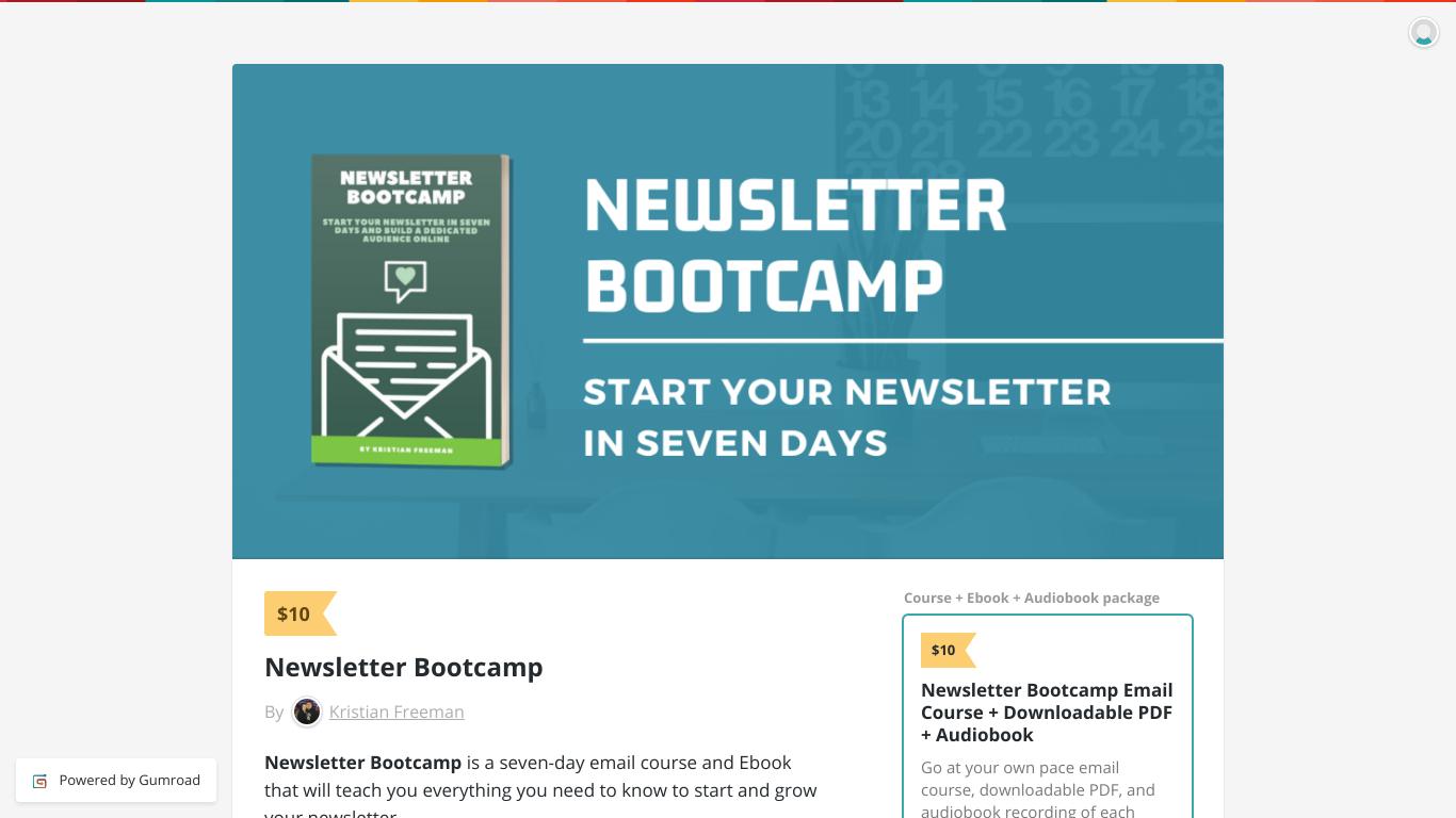 Newsletter Bootcamp