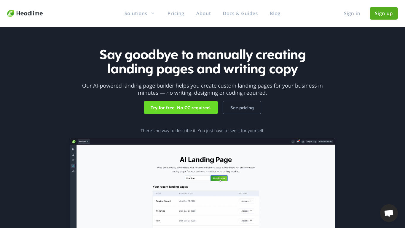 Pages by Headlime
