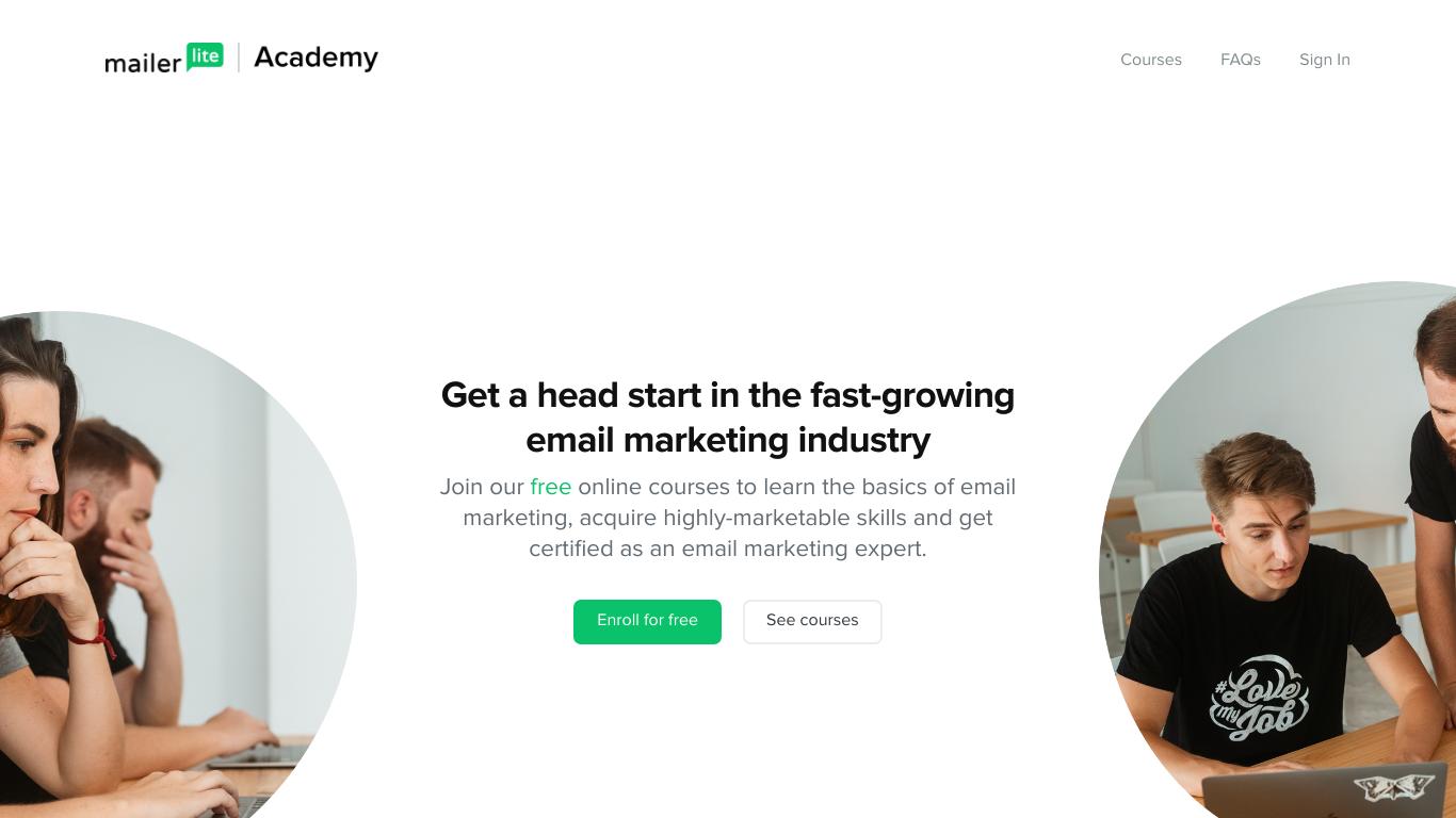 Email Marketing Academy by MailerLite