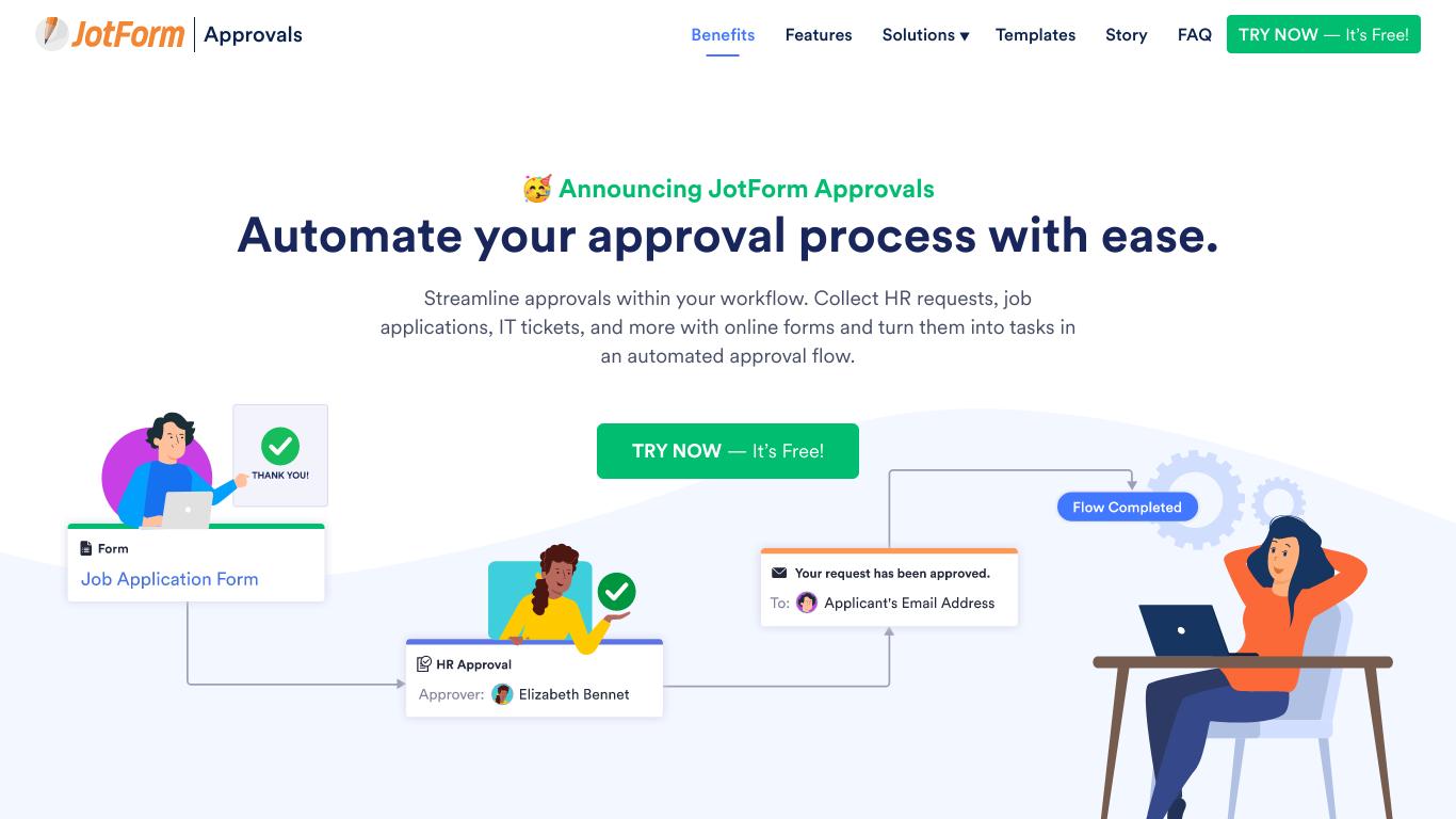 JotForm Approvals