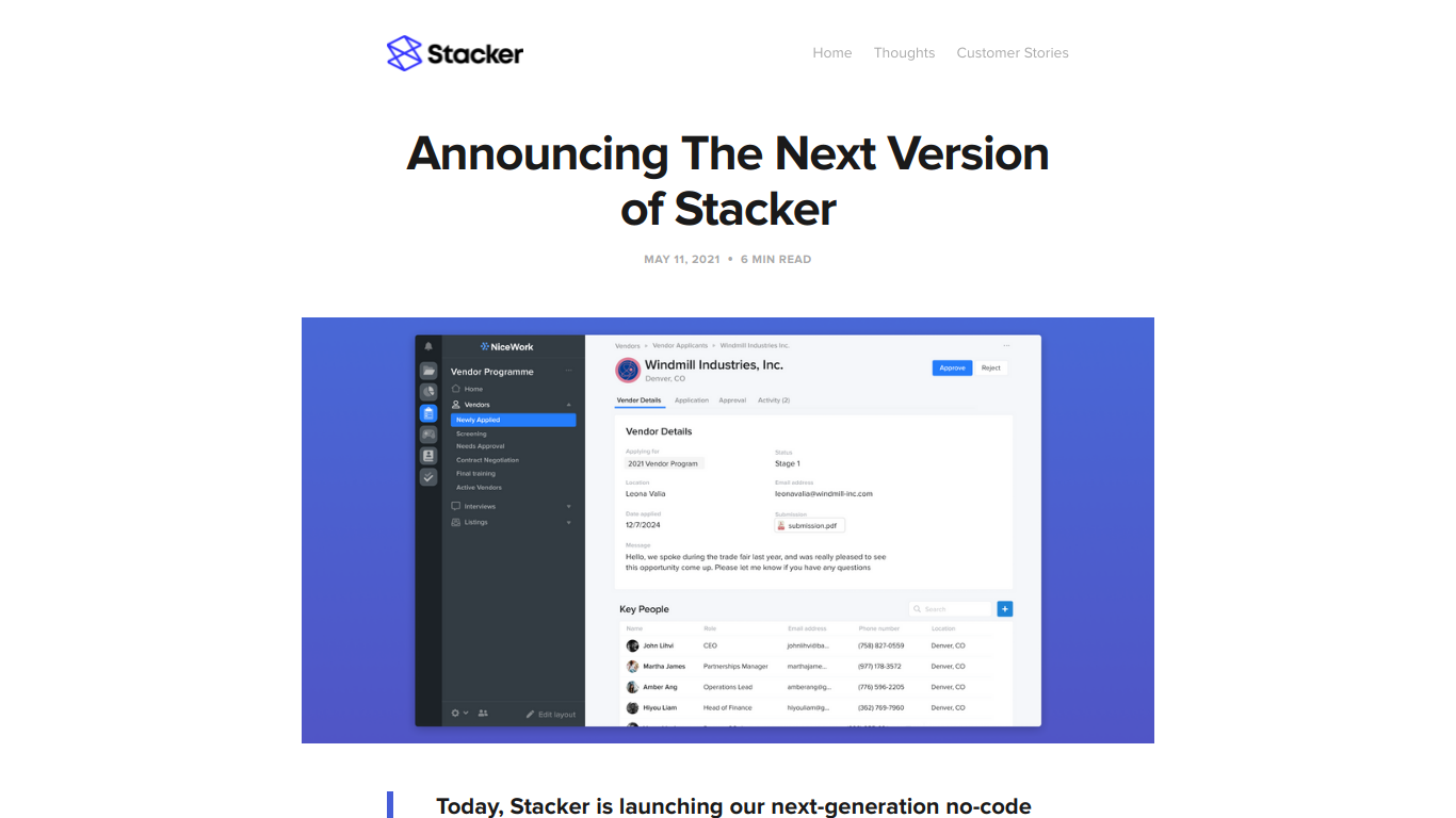 Stacker 2.0