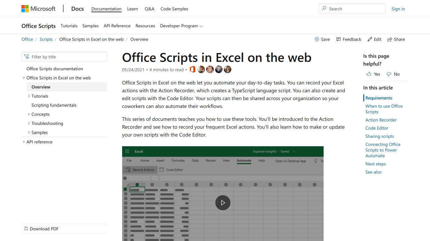 Office Scripts