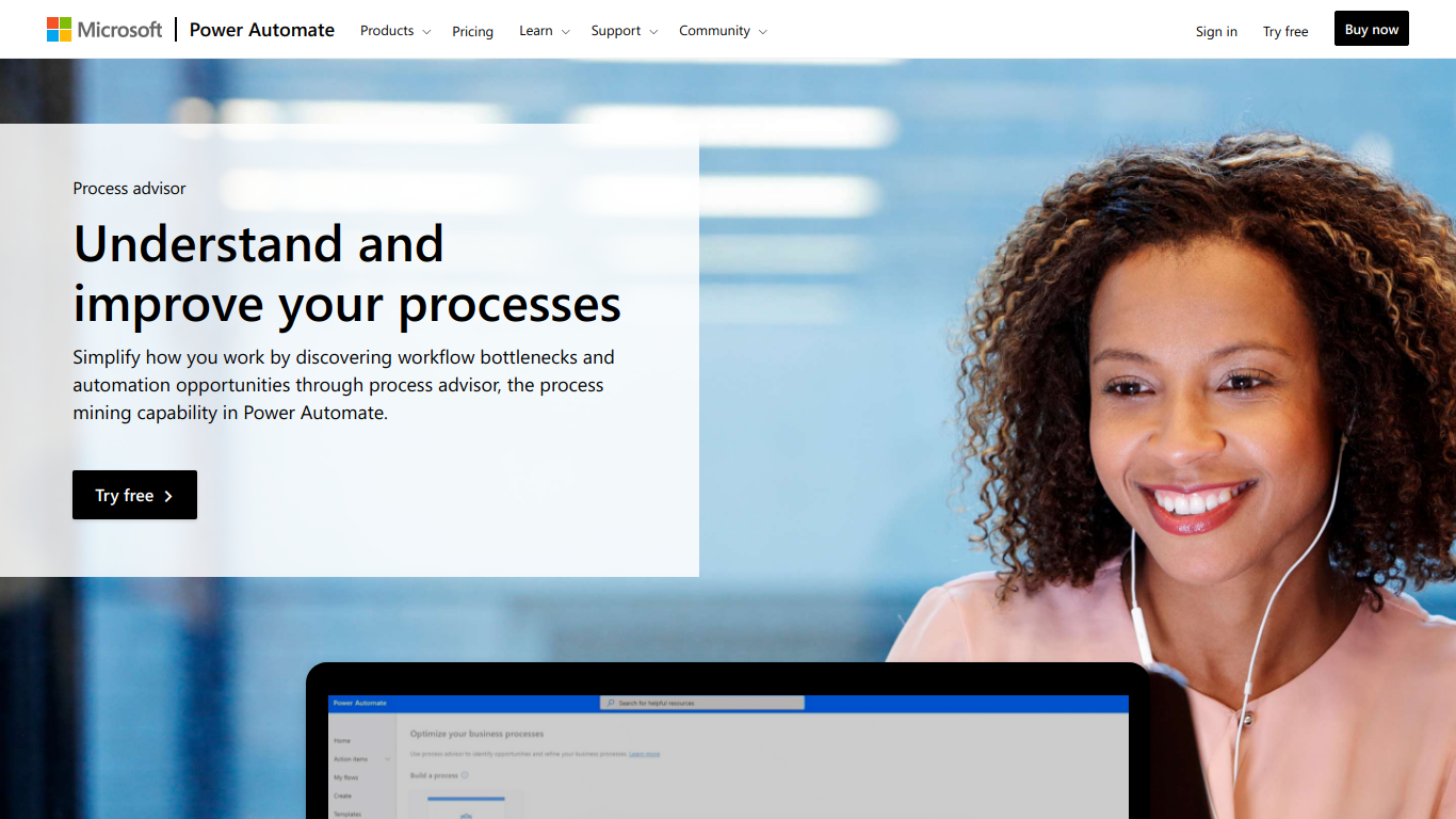 Microsoft Process Advisor