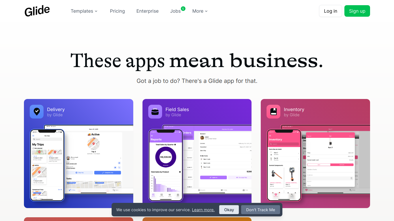 Glide Apps for Work