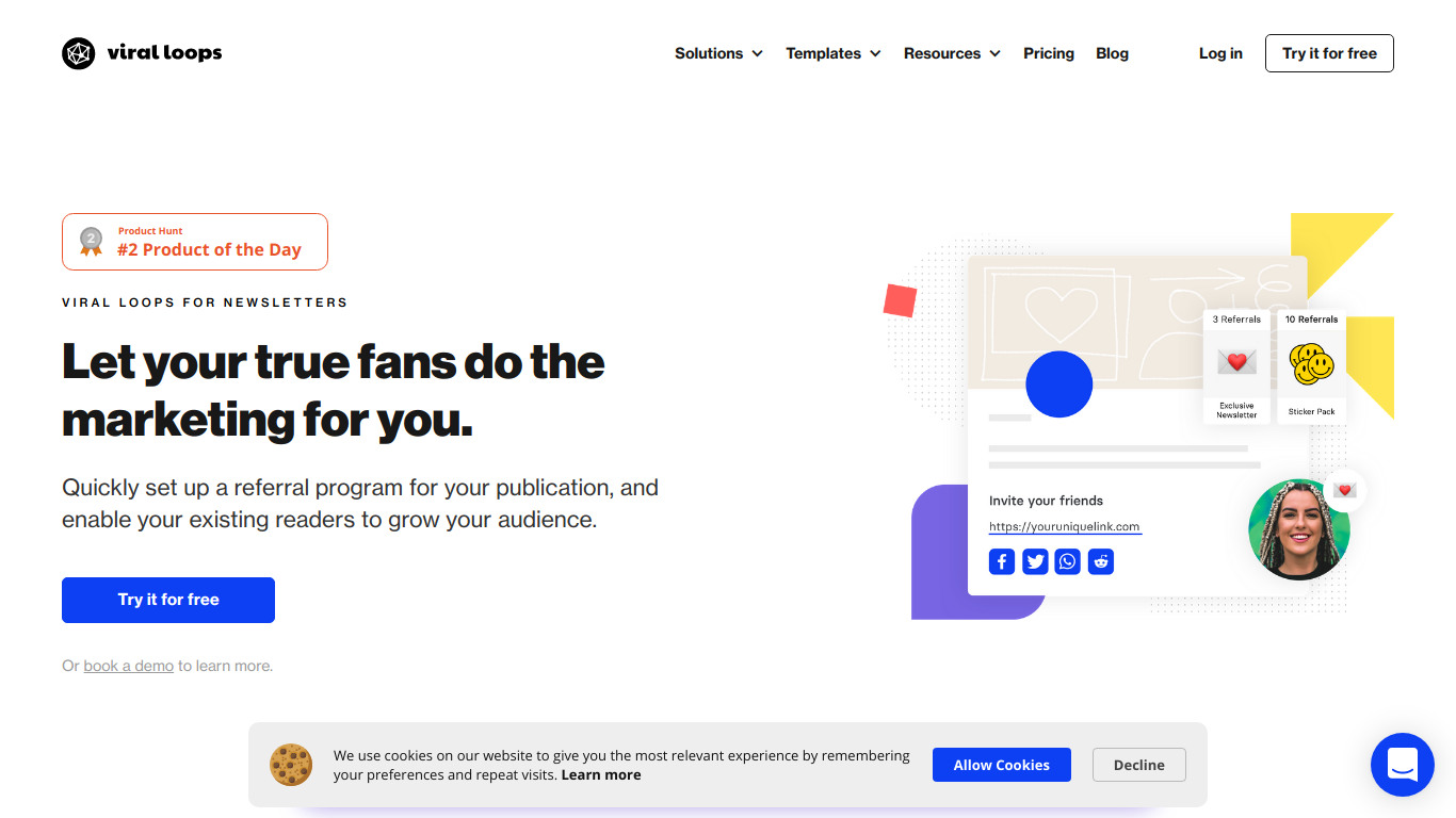 Viral Loops for Newsletters