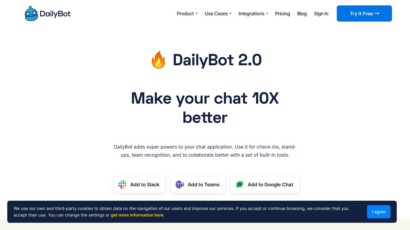 Dailybot 2.0
