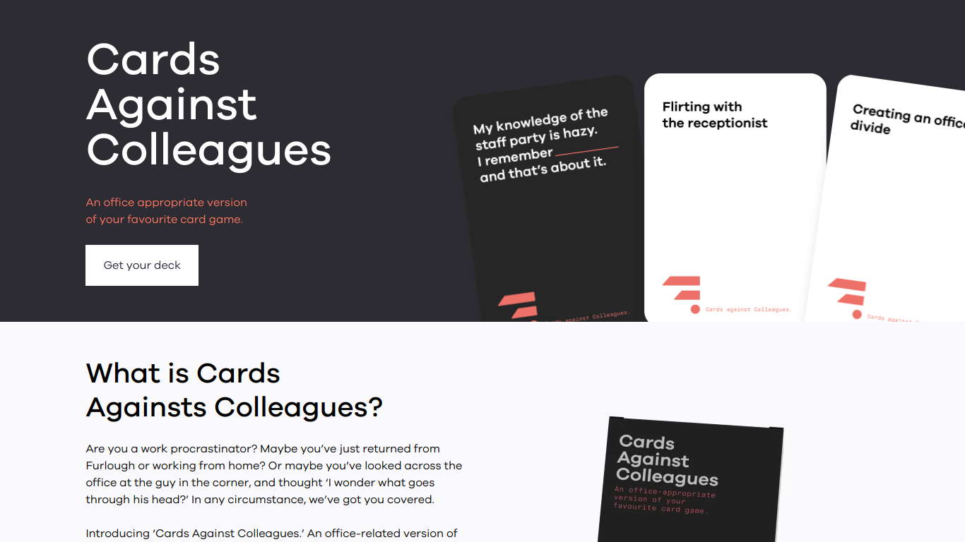 Cards Against Colleagues