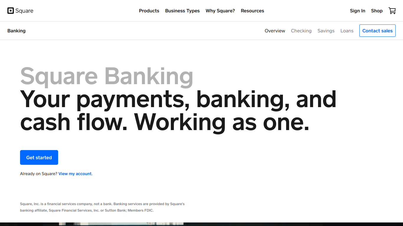 Square Business Banking
