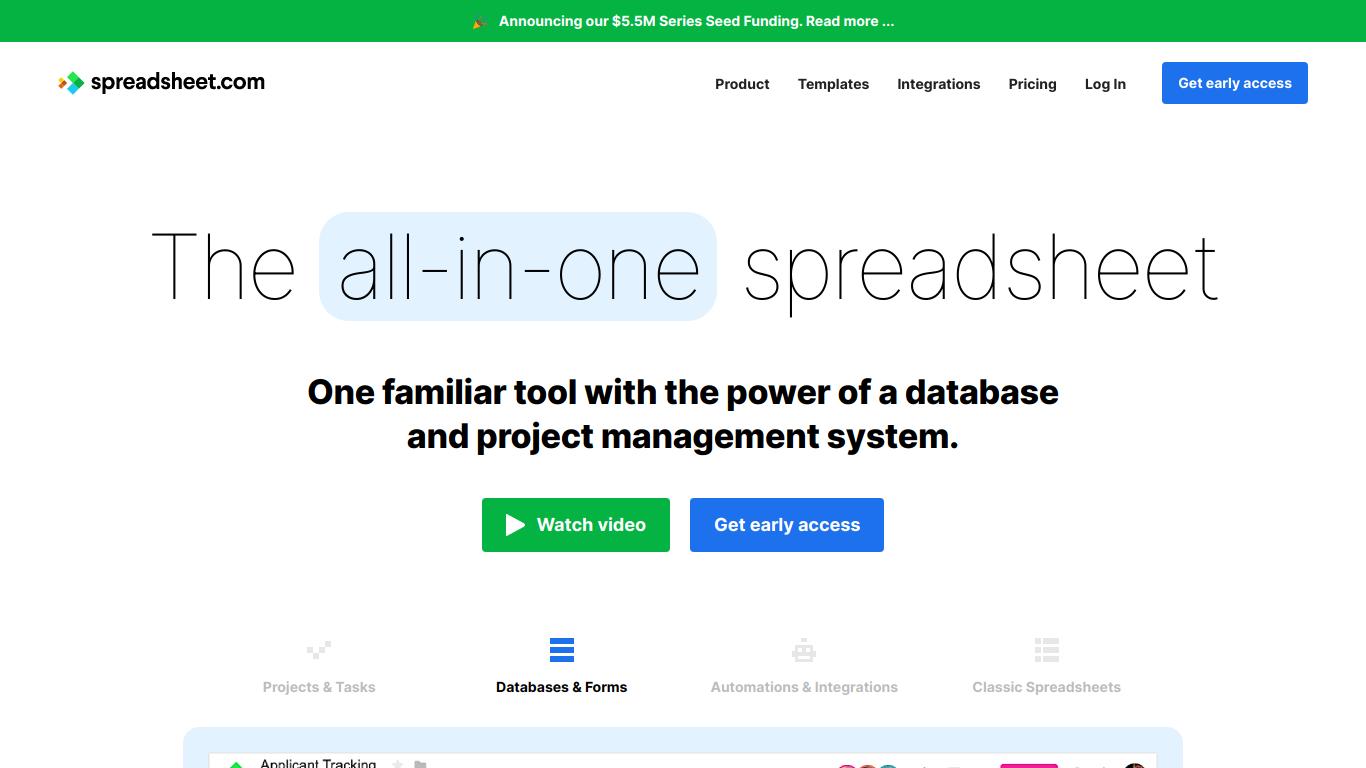 Spreadsheet.com