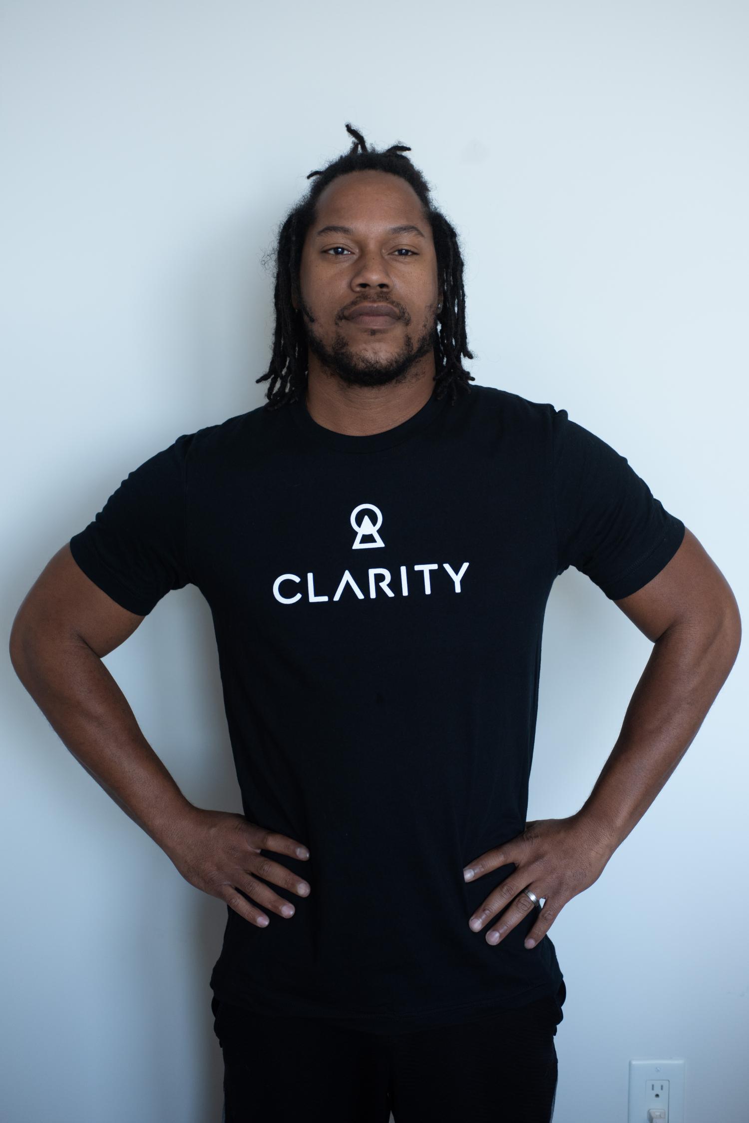 Black Clarity Men's T-Shirt